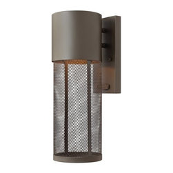 """Hinkley Lighting - Hinkley Lighting 2300-LED 14"""" Height Dark Sky LED Outdoor Wall Sconce - 14"""" Height LED Dark Sky Outdoor Wall Sconce with Stainless Steel Shade from the Aria CollectionFeatures:"""