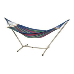 Aruba Hammock And Stand Set, Blue