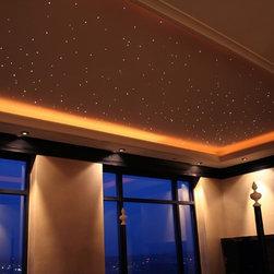 Denver - Loft - Fiber optic ceiling in traditional loft space.