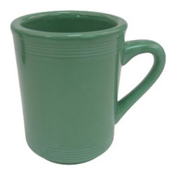 CAC China - Tango Color Pattern 8 oz Green Tall Cups 36 Ct - Descriptions: C.A.C China provides durable dinnerware at all levels including super white porcelain, fine bone china, American white china, colored glaze china and Asian style china. C.A.C China offers a variety of innovative shapes from square rectangular triangular wavy to round that will brighten up any tables for modern trendy restaurants hotels resorts clubs caterers cruises etc. All C.A.C China products are oven microwave and dishwasher safe.