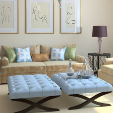 Contemporary Living Room by SmartSpace Interiors