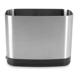 Oxo - OXO Good Grips Stainless Steel Rectangular Utensil Holder - When counter space is at a premium, every square inch counts. Keep your kitchen tools organized and within reach without cluttering up your countertop.
