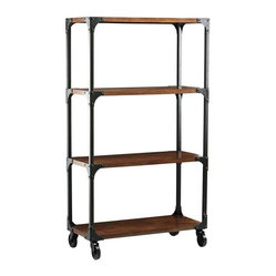 Industrial Empire Bookcase