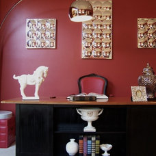 Modern Home Office by Kelly Porter