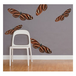 Design Your Wall - Monarch - Vintage Wall Decal - Fill your space with warm summer memories with these vintage-style illustrated butterflies.