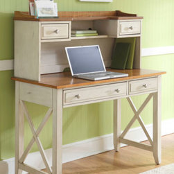 Liberty Furniture - Writing Desk with Hutch -