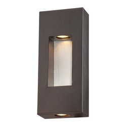 The Great Outdoors - The Great Outdoors 72371-615B 2 Light ADA Compliant Outdoor Wall Sconce from the - Two Light Outdoor Wall Sconce from the Geox CollectionFeatures: