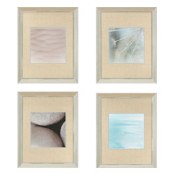 Paragon - Ocean Dreams PK/4 - Framed Art - Each product is custom made upon order so there might be small variations from the picture displayed. No two pieces are exactly alike.