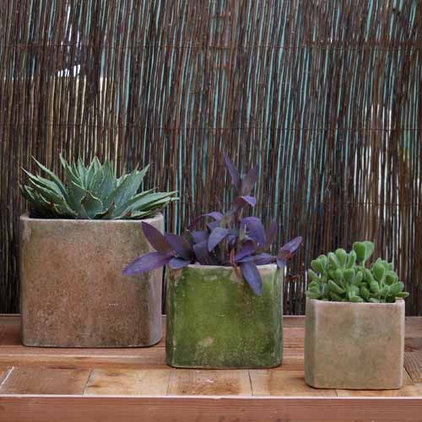 Eclectic Outdoor Pots And Planters by Potted
