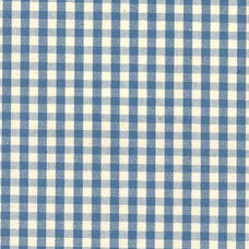 Small Gingham Fabric | Blue Gingham Check