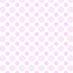 Murals Your Way - Light Pink Polka Dots Wall Art - Painted by Andy K., the Light Pink Polka Dots wall mural from Murals Your Way will add a distinctive touch to any room