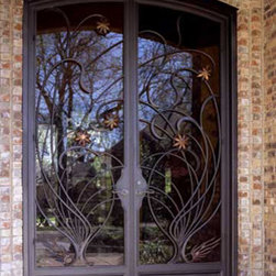 www.irondoorsnow.com - Iron Doors NOW have a way of catching your attention and inspiring pride of ownership. Our Iron entry doors provide beauty, style, elegance, and security all in one without having a traditional security door. Our top quality iron doors have dual pane hinged glass panels which allow you all the security benifits that are provided by the ornate scrolled designs each time you answer the door.