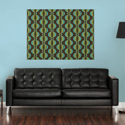 "Loopy Blox Green Blue Room Set of Wall Decals - Add a chic and retro focal point to your room with the Loopy Blox Room Set, featuring a stunning and artistic geometric pattern that's fashionably modern. The Loopy Blox Green Blue Room Set includes 12, 13"" x 13"" Loopy Blox for a total of 12 pieces."