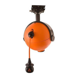 Frontgate - RoboReel Ceiling Mount Power Cord System - Self-leveling ball joint technology makes ...