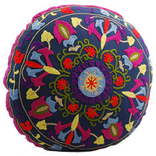 Mediterranean Floor Pillows And Poufs by Modelli Creations