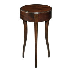 EuroLux Home - New Drinks Table Black Mahogany Round - Product Details