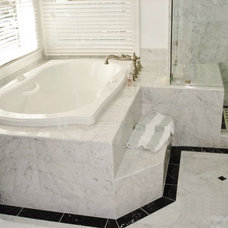 Traditional Bathroom by J Walsh Construction, Inc