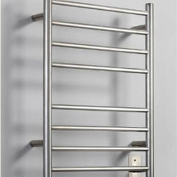 Bathroom Towel Warmers - Bathroom towel warmers are meant to be a bath accessory for drying your bathroom towels fast. This Towel Warmer is meant for those who don't want to use a humid towel after taking a calming bath. The electric towel warmers are made of Brushed Nickel, Polished Chrome or Oil Rubbed Bronze Finish and consist of two vertical rods then Electric Warming Towel Bars, when the Wall Mounted or FREE STANDING Towel Warmer is plugged in, the oil that is inside the Warming Towel Bars heats up. You simply curtain the damp towel over the Towel Bars and within usually 10 minutes; your Towel Warmer is all dry up for your enjoyment. There are a lot of rewards of having electric towel warmers towel in your home.