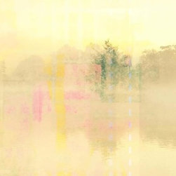 "Parvez Taj - Wall Prints - Lake of Bays - 40""x60"" - Hello Sunshine! This limited edition print, by artist Parvez Taj, radiates early morning light, reflected off rising mists and water. Even the darkest of your rooms will take on a new wavelength."