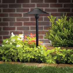 Kichler Lighting - Kichler Lighting 15310BKT Landscape 12v 1 Light Pathway Lighting in Textured Bla - This 1 light Landscape Path Light from the Landscape 12V collection by Kichler will enhance your home with a perfect mix of form and function. The features include a Textured Black finish applied by experts. This item qualifies for free shipping!