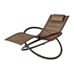 Bellini Home and Gardens - Bellini Bali Wave Rocking Chaise Lounge - Bellini Bali Wave Rocking Chaise Lounge