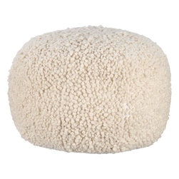Poodle Pouf - I've always wanted a poodle — but not really. This little Poodle Pouf is so perfect for me. I love its cute style.