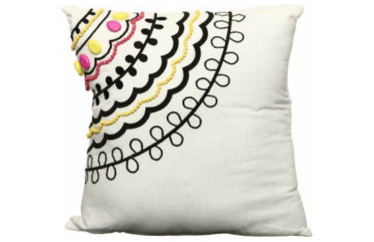 eclectic pillows by Overstock