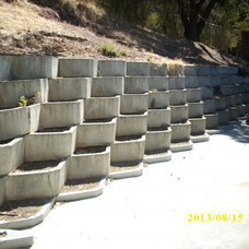 Traditional Landscaping Stones And Pavers by Nichols retaining walls & pavers