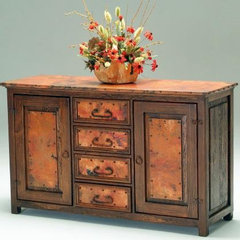 eclectic buffets and sideboards by Woodland Creek Furniture