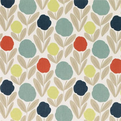 contemporary wallpaper by LAURA ASHLEY