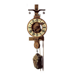 ROMBACH UND HASS - Rombach und Haas Hohenzollern Antique Reproduction Clock - Wooden mechanism