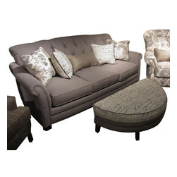 Chelsea Home Furniture - Chelsea Home 2-Piece Living Room Set in Lindy Chinchilla with Accent Pillows - Port Edwards 2-Piece living room set in Lindy Chinchilla with Accent Pillows belongs to the Chelsea Home Furniture collection