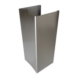 XtremeAIR - XtremeAIR DL08-W48 Extension Chimney For 12 ft Ceiling Height - XtremeAir's DL08-W48E Extension Chimney is perfect for a 12 ft ceiling height. This extension chimney is specifically made for XtremeAir's DL08-W48 range hoods.