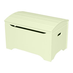 Little Colorado - Little Colorado Solid Wood Toy Storage Chest - Pastel Green - 053PG - Shop for Childrens Toy Boxes and Storage from Hayneedle.com! Add storage and elegance to any child's room with the Little Colorado Solid Wood Toy Storage Chest - Pastel Green No Personalization. A simple hardwood body with a pleasant green finish and gently arched lid can lift up any room. This chest weighs 37 lbs and requires some assembly.Little Colorado is a Green CompanyAll finishes are water-based low-VOC made by Sherwin Williams and other American manufacturers. Wood raw materials come from environmentally responsible suppliers. MDF used is manufactured by Plum Creek and is certified green CARB-compliant and low-formaldehyde. All packing insulation is 100% post-consumer recycled. All shipping cartons are either 100% post-consumer recycled or are made of recycled cardboard.About Little ColoradoBegun in 1987 Little Colorado Inc. creates solid wood hand-crafted children's furniture. It's a family-owned business that takes pride in building products that are classic stylish and an excellent value. All Little Colorado products are proudly made in the U.S.A. with lead-free paints and materials. With a look that's very expensive but a price that is not Little Colorado products bring quality and affordability to your little one's room.