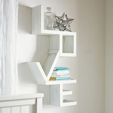 Contemporary Wall Shelves by PBteen