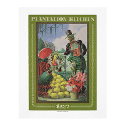 "Cool Culinaria - Plantation Kitchen, Las Vegas, 1960s Vintage Menu Art Print, 11x14"" - Cool Culinaria Giclee Prints on 130lb Sunset Velvet Archival Art Paper. Printed in New York."