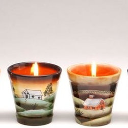 ATD - Set of 4 Assorted Multi Colored Votive Glass Cup Candle Holders - This gorgeous Set of 4 Assorted Multi Colored Votive Glass Cup Candle Holders has the finest details and highest quality you will find anywhere! Set of 4 Assorted Multi Colored Votive Glass Cup Candle Holders is truly remarkable.