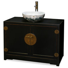 Asian Bathroom Vanities And Sink Consoles by China Furniture and Arts
