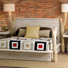 eclectic beds by Living Simplistically