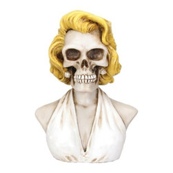 Summit - Marilyn - Collectible Skeleton Figurine Statue Sculpture Figure Skull - This gorgeous Marilyn - Collectible Skeleton Figurine Statue Sculpture Figure Skull has the finest details and highest quality you will find anywhere! Marilyn - Collectible Skeleton Figurine Statue Sculpture Figure Skull is truly remarkable.