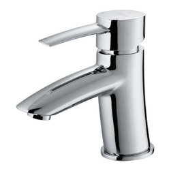 """Vigo - Vigo VG01023CH Chrome Bath Faucets Single Handle Chrome Bathroom - Precision is only a step away with this drip-free Vigo faucet. Vigo s standards for quality and style are unmatched.Solid brass construction and chrome finish ensures durability and longer lifeHigh-quality ceramic disc cartridge ensures maintenance-free use Mineral-resistant nozzle is easy-to-cleanVigo finishes resist corrosion and tarnishing, exceeding industry durability standardsEasy single-hole installationModern single lever for water and temperature controlAll mounting hardware and hot/cold waterlines includedWater pressure tested for industry standardStandard US plumbing 3/8"""" connectionsStandard 1 3/8"""" diameter opening is requiredOverall height: 6 1/8""""2.2 GPM flow rate Pop up drain not includedLimited Lifetime Warranty"""