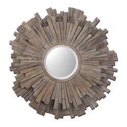 www.essentialsinside.com: vermundo mirror - Vermundo Wood Mirror by Uttermost.