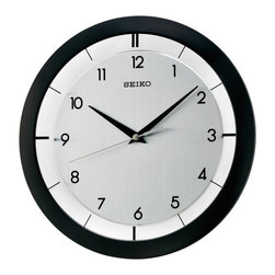 Seiko - Seiko QXA520KLH Wall Clock - 11 in. Multicolor - QXA520KLH - Shop for Clocks from Hayneedle.com! Combining simplicity and functionality the Seiko 11 in. QXA520KLH Wall Clock easily blends into any style of decor. With a sturdy metallic case it features quartz movement a plastic crystal and a quiet sweep second hand. The clock hands are stylish and point to numerals that further add to its simplicity. It has a white dial with black hands and numerals. This clock can be used to accentuate any wall in your home.About SeikoOver its 120-year history as a maker of fine timepieces the Seiko name has become synonymous with cutting-edge technology ultra-precision constant innovation and refinement. Millions worldwide rely on Seiko wristwatches to keep them on schedule. Two generations have grown up thrilling to Olympic and World Cup competitions where victory or defeat is defined within a fraction of a second all overseen by Seiko timekeepers. Seiko's far-reaching modern empire has its roots in a humble Tokyo clock repair shop opened by Kintaro Hattori in 1881 nearly a century before the introduction of its first landmark wristwatch. Today Seiko continues to offer a wide array of clocks and movements for any home including wall alarm desk mantel musical and heirloom quality decorative pieces. Beautiful on the outside quality components on the inside Seiko products will serve you for years to come.