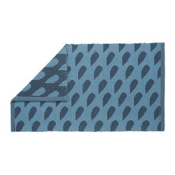 Raindrops Bath Mat - This droplet bath rug is perfect for catching all your drips when you step out of the shower.