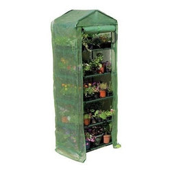 "Gardman USA - 4 Tier Growhouse With Cover - 4 Tier Growhouse With Cover with heavy duty cover -5'3"" high x 2'3"" wide x 1'6"" deep"