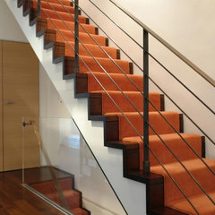contemporary staircase by Axis Mundi