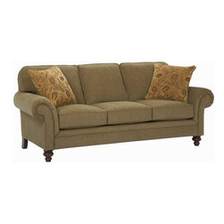 Broyhill - Larissa Queen Sleeper Sofa - 6112-7Q - Attached Back