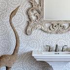 Jacqueline Vine Stone Mosaic - Jacqueline Vine, a natural stone waterjet mosaic, is shown in tumbled Thassos.