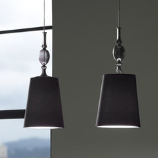 eclectic pendant lighting by Rebekah Zaveloff | KitchenLab