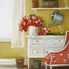 Artwork The Butterfly Chair painting by Janet Hill